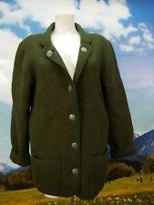 Stapf dicke warme Walkjacke in grün für Winter Top Trachtenjacke Jacke Gr.44
