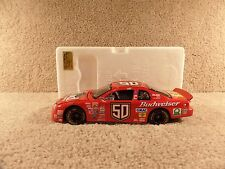 New 1998 Action Elite 1:24 Diecast NASCAR Louie The Lizard Budweiser Monte Carlo