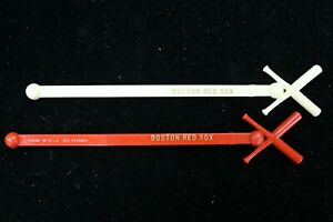 Scarce Late 50's/Early 60's Boston Red Sox Red or White Swizzle Stick/Stirrer