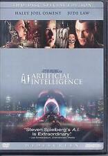 A.I. Artificial Intelligence(DVD,2002,2-Disc Set,Anamorphic Widescreen Lettering