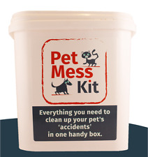 "Pet Mess Kit,Everything needed to clear up after an ""accident""."