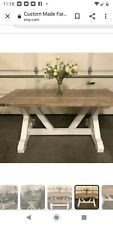 Rustic Farmhouse Style Kitchen Table
