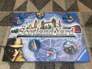 Scotland Yard - The Hunt for Mr X London 2014 Board Game 100% Complete