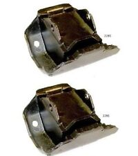 1968 TO 1980 BUICK PONTIAC JEEP FRONT MOTOR MOUNTS SET OF 2 NEW 2281