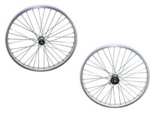 Beach Cruiser 26 x 45mm  Fat Front & Rear Wheels Rims with 36 spokes Silver