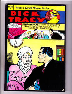 "Dick Tracy Book 6-1986-Strip Reprints Hard Cover- ""Mumbles Quartette Cover!  """
