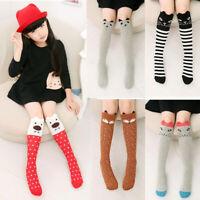 Cute Kids Baby Girls Knee High Socks Tights Leg Warmer Stockings For 3-12 Years