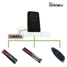 Telecomando compatibile SOMMER 4013 4014 4022 433 mhz universale ATECNICA DARK
