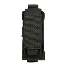 Vertical Small Fabric Folding Knife DIY Tool Multi-Tool Belt Pouch Holder Black