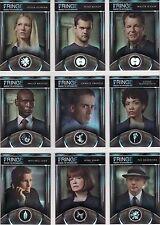"Fringe Season 1 & 2 ""Our Universe"" 9 Card Chase Set F01 - F09"