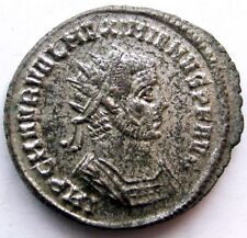 Maximianus_first reign_286 - 305 AD_silvered AE Antoninianus