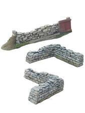 Britains ACW Mauern, Tor und Ecken, W. Britain, 17812, Maßstab 1/30, 1/32, 1/35