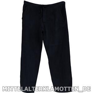 MITTELALTERHOSE 4 Farben S-XXXL Holzknöpfe Schnürung Baumwolle Mittelalter Hose