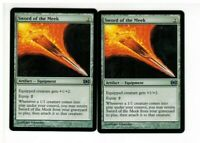 Sword of the Meek  X  2  {  Future Sight ]  MTG