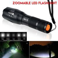8000LM T6 Zoom shadowhawk XML LED Militaires lampe de poche la tactique torche