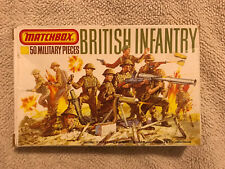 Matchbox British Infantry P-5001 1:76 50 Pieces New In Box
