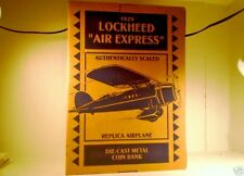 LOCKHEED 1929 AIR EXPRESS IGA ERTL BI-PLANE DIE CAST