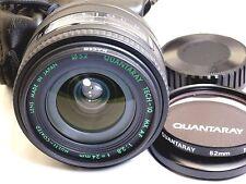 Quantaray 24mm f2.8 Tech-10 MX AF lens for Minolta Maxxum Sony A mount A58 57 37