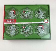 Snoopy Peanuts Christmas Musical String Lights Color Changing LED New in Box