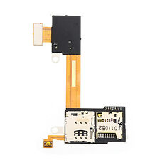For Sony Xperia M2 D2303 D2305 D2306 Sim + SD Slot Reader Tray Holder Flex Cable
