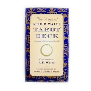The Original Rider Waite Tarot Deck Cards - Booklet Included - BRAND NEW!