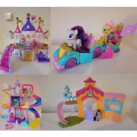 My Little Pony toys bundle set rainbow friendship castle princess celebration