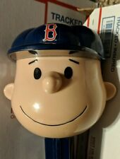 Charlie Brown Red Sox Giant Music Playing Pez Dispenser