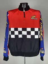 Women's Forever 21 x Honda Racing Series Checkered Full Zip Sold Out XL NWOT