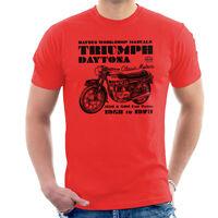 Haynes Owners Workshop Manual Triumph Daytona 350 500 Men's T-Shirt