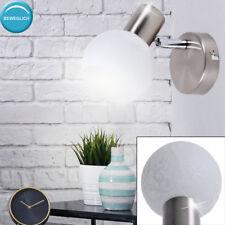 Fleur design applique verre sphère sommeil chambre lampe mobile spot blanc neuf