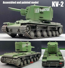 Easy Model KV-2 Soviet USSR army early Russian Green 1:72 finished tank