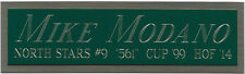 MIKE MODANO NORTH STARS NAMEPLATE FOR AUTOGRAPHED Signed STICK-PUCK-JERSEY-PHOTO