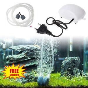 Low Noise Aquarium Air Pump Home Fish Tank Air Pump Tool Oxygen Pump EU Plug