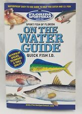 On the Water Guide Quick Fish ID Florida Sportsman Sport Fish Waterproof Fishing
