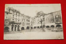 VILLEFRANCHE DE ROUERGUE PLACE NOTRE DAME AVEYRON 1915