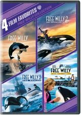 Free Willy Collection: 4 Film Favorites [2 Discs] DVD Region 1
