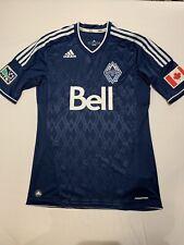 Mens adidas Vancouver Whitecaps authentic MLS soccer jersey size Medium