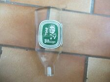 BITBURGER LUCITE OLD BINTAGE DOUBLE SIDED TAP HANDLE GERMAN BIER TAP KNOB