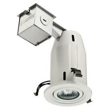 NEW Lithonia Lighting 3 in. White Gimbal Recessed Light LK3GMW M6 - With Bulb