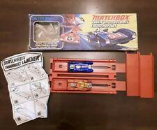 RARE MATCHBOX TWIN THUNDERBOLT LAUNCHER SET 1971 - GOOD CONDITION