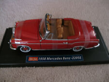 SUN STAR- 1958 MERCEDES BENZ  220SE CAR MODEL 1:18 SCALE