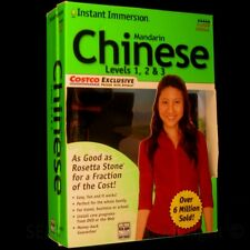 Special ED. Learn to SPEAK CHINESE Language Level 1 2 3 PC MAC Instant Immersion