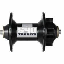 DT Swiss - 540 Tandem front hub disc 6-bolt 36 hole black, Q/R.