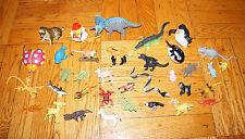 30+ Lot Animals Mammals Reptiles Dinosaur Alligator Duck Shark Snake Mouse Camel