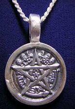 LOOK EGYPTIAN ETERNAL LIFE PENDANT PENTAGRAM ANKH silver 925