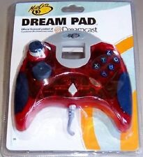 NEW Dreamcast OFFICIAL Mad Catz Red Controller Pad