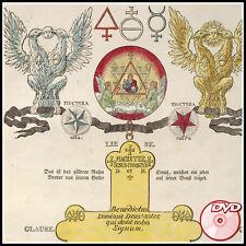 ALCHEMY Hermetic Old Books Atalanta Fugiens - Gloria Mundi Alchemists - 3 DVD's