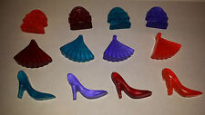 Soap x 15 - handbag, fan shoe shape. Great for party bags, stocking filler, gift