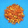 10g Hokkaido Kürbis Chips ohne Zusätze, Futter für Garnelen Krebse Welse