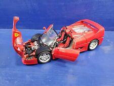 Burago 1/18 Scale Diecast 3352 Ferrari F50 1995 Coupe RARE RED